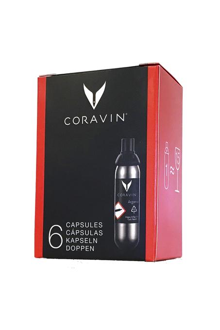 CÁPSULAS CORAVIN™ (6 unidades)