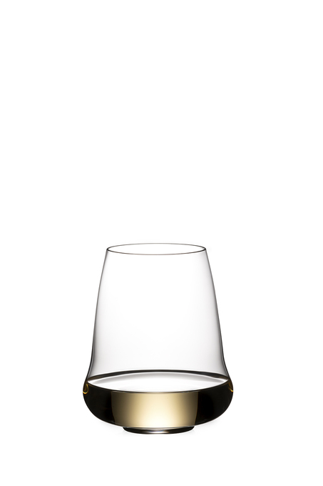 RIEDEL STEMLESS WINGS RIESLING / CHAMPAGNE GLASS (estuce 2 unidades)